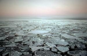Melting Arctic Waters Pour Into Ocean